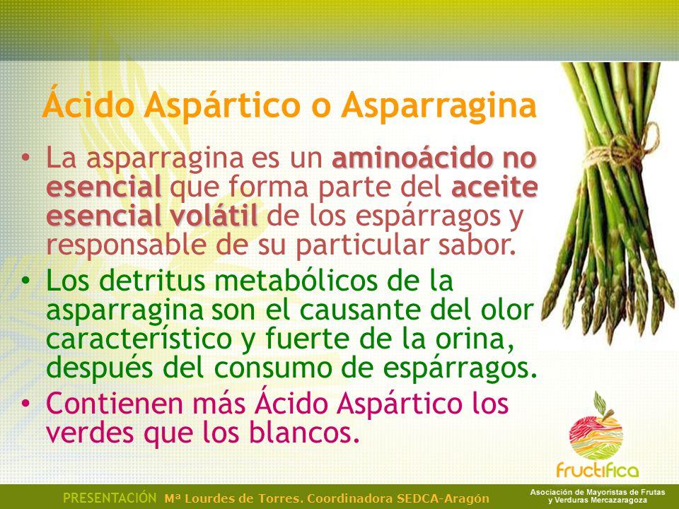 Ácido Aspártico o Asparragina aminoácido no esencialaceite esencial volátil La asparragina es un aminoácido no esencial que forma parte del aceite ese