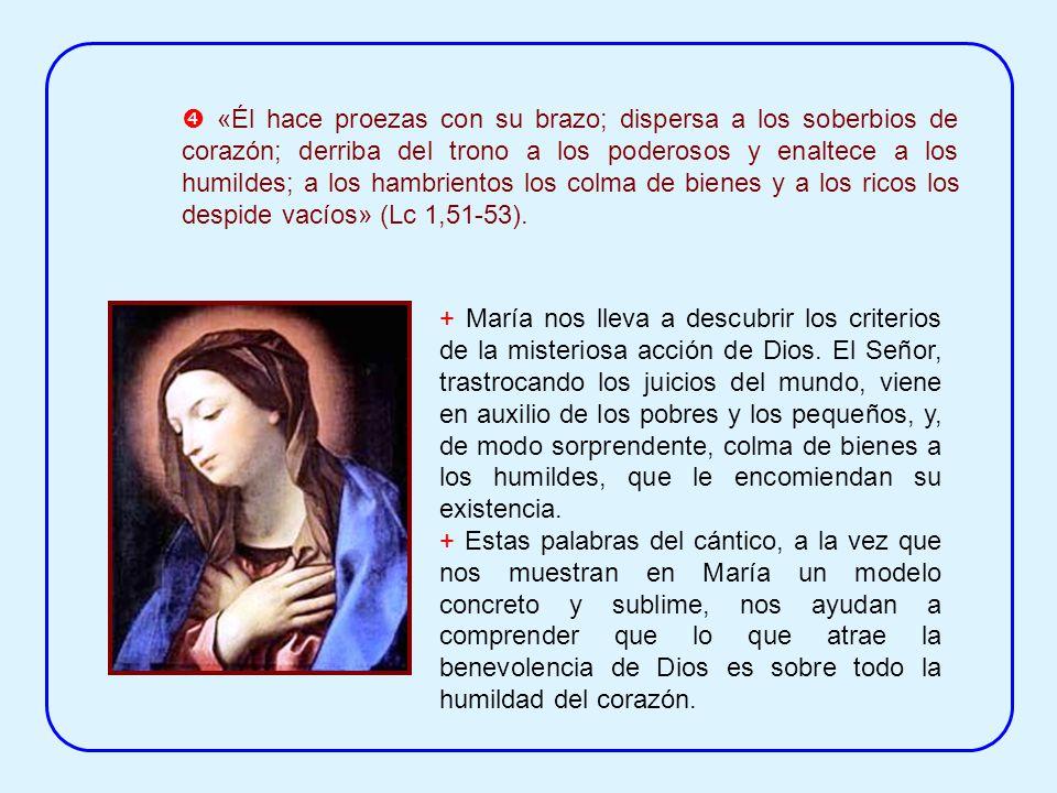 ¿Qué son esas «obras grandes» realizadas en María por el Poderoso? a) En el Magníficat se refiere al acontecimiento misterioso de la concepción virgin