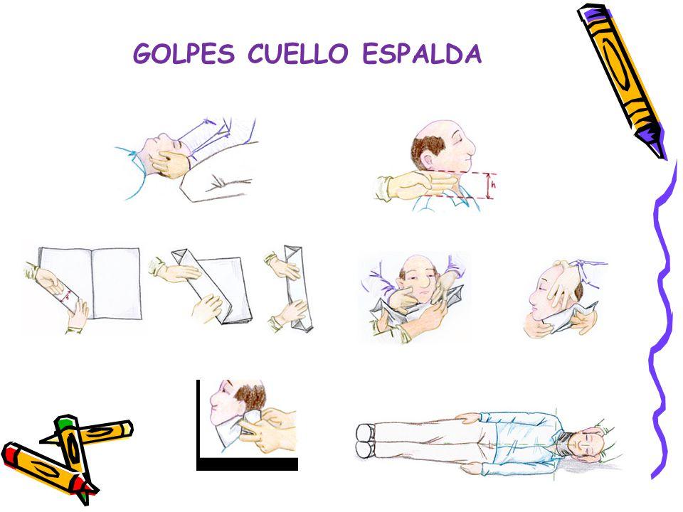 GOLPES CUELLO ESPALDA