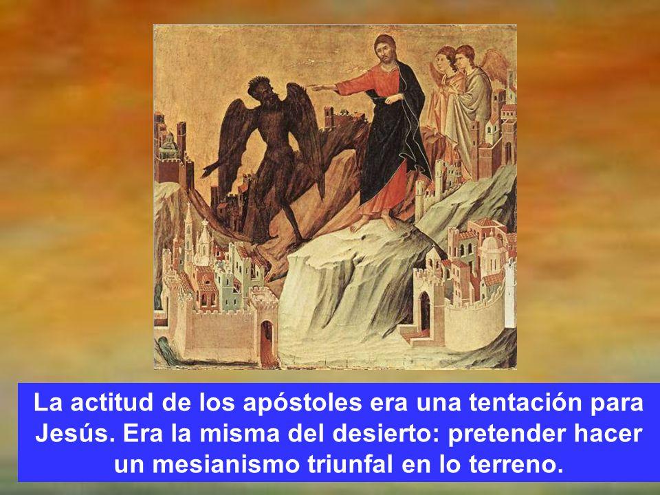 Esto no lo entendían, lo de la muerte y menos lo de la resurrección.