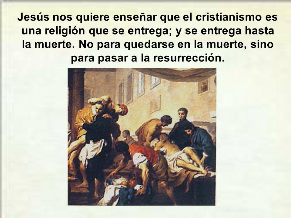 La actitud de los apóstoles era una tentación para Jesús.