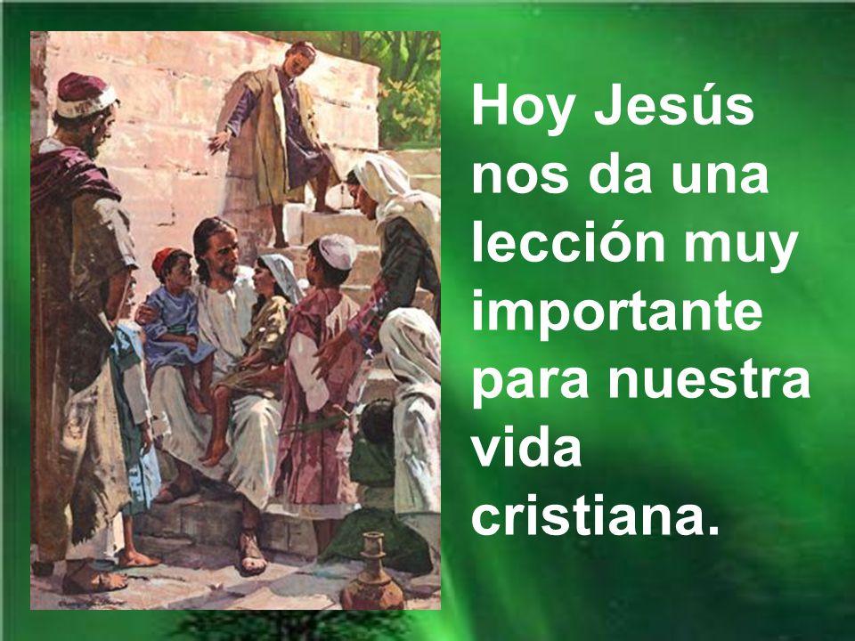 Jesús nos quiere enseñar que el cristianismo es una religión que se entrega; y se entrega hasta la muerte.