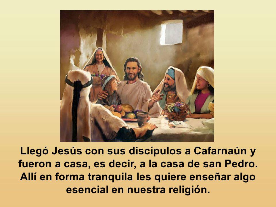 La mentalidad de Jesús es muy diferente de la material.