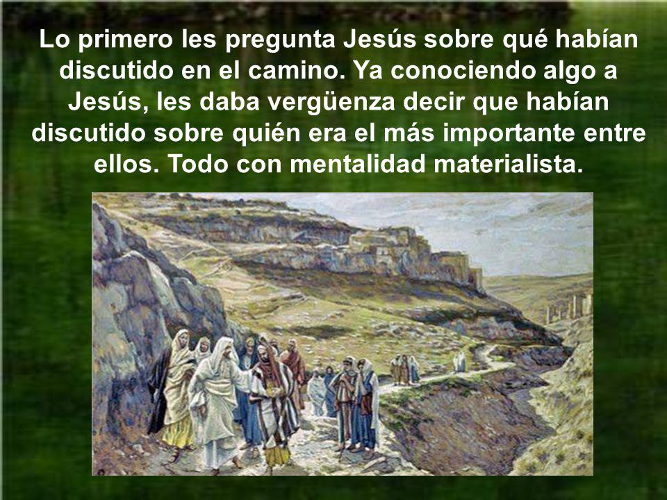 Llegó Jesús con sus discípulos a Cafarnaún y fueron a casa, es decir, a la casa de san Pedro.