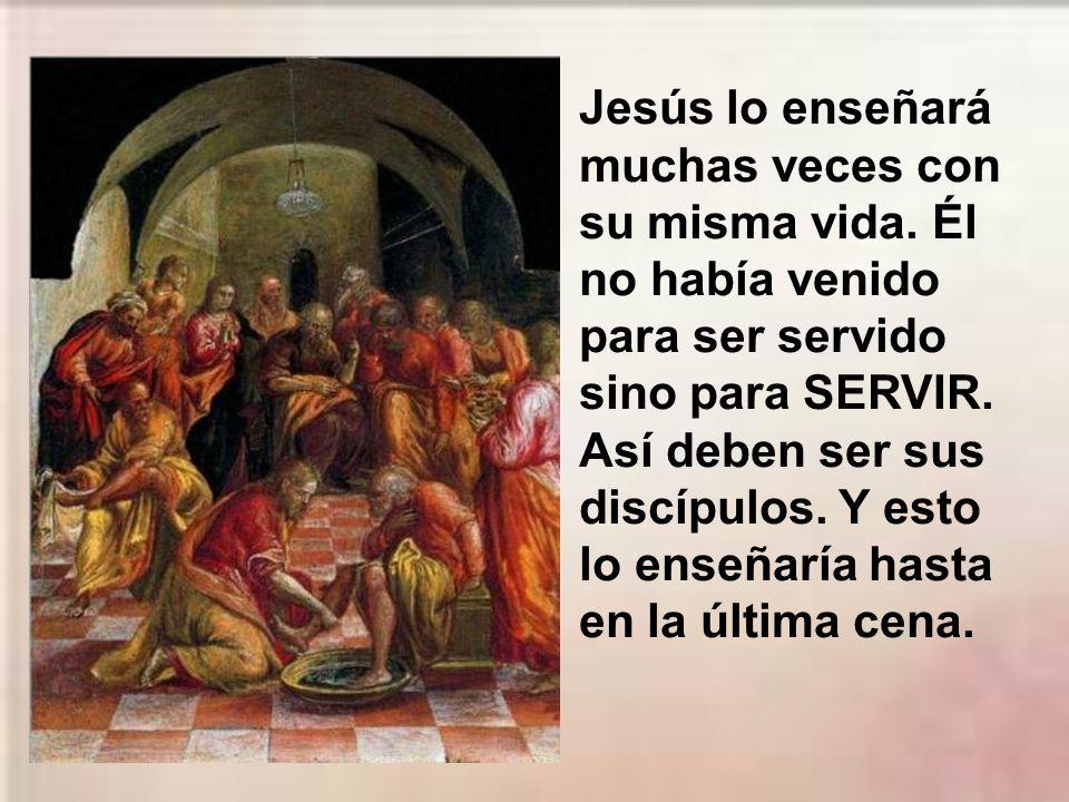 Jesús les da una norma general de nuestra religión: Quien quiera ser el primero, que sea el último de todos y el servidor de todos.