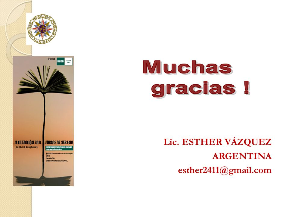 Lic. ESTHER VÁZQUEZ ARGENTINA esther2411@gmail.com