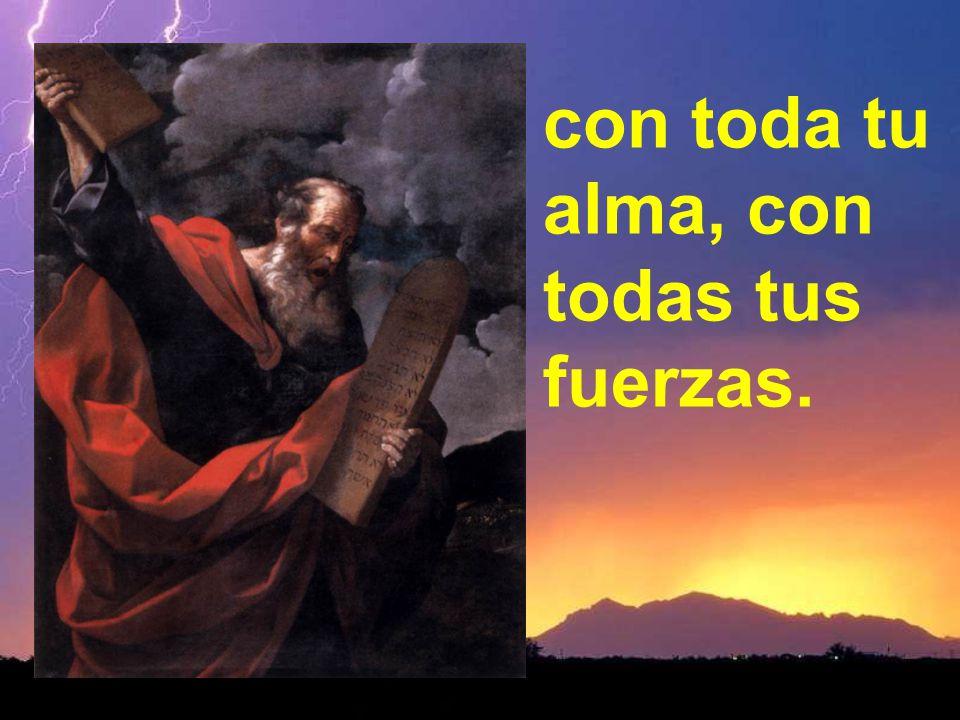Amarás al Señor, tu Dios,