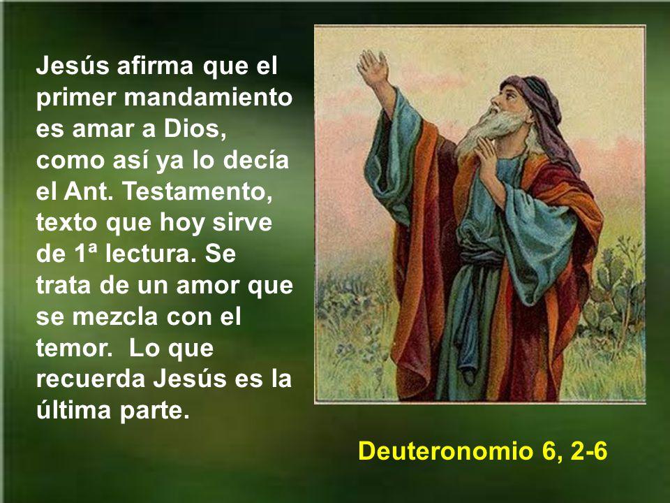Nos dice san Juan evangelista: No digamos que amamos a Dios, a quien no vemos, si no amamos al prójimo a quien vemos.