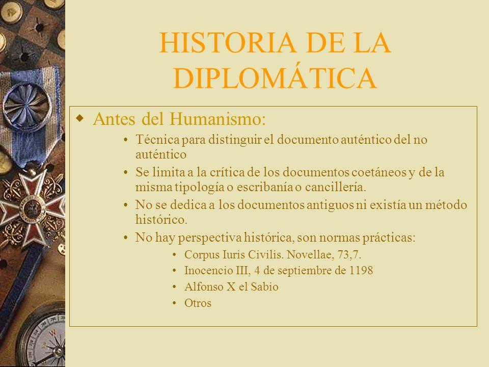 De la Diplomática a la Historia del Documento D iplomática se encaminaba al documento estático como fenómeno : Al medieval y al de Occidente A auxilia