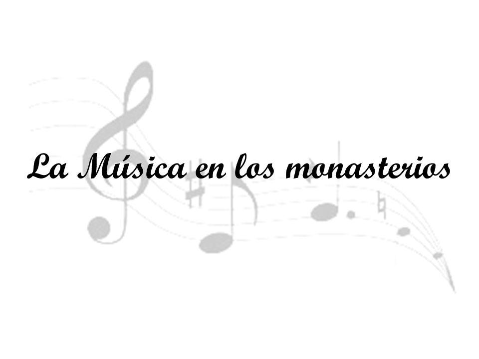 En la Edad Media los monjes compusieron música en latín para las misas.