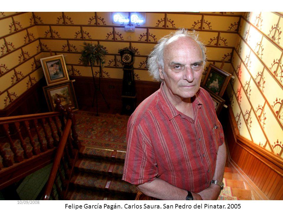 10/09/2008 Felipe García Pagán. Carlos Saura. San Pedro del Pinatar. 2005
