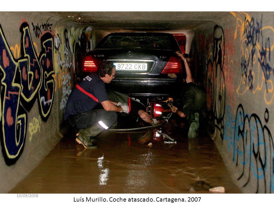 10/09/2008 Luís Murillo. Coche atascado. Cartagena. 2007
