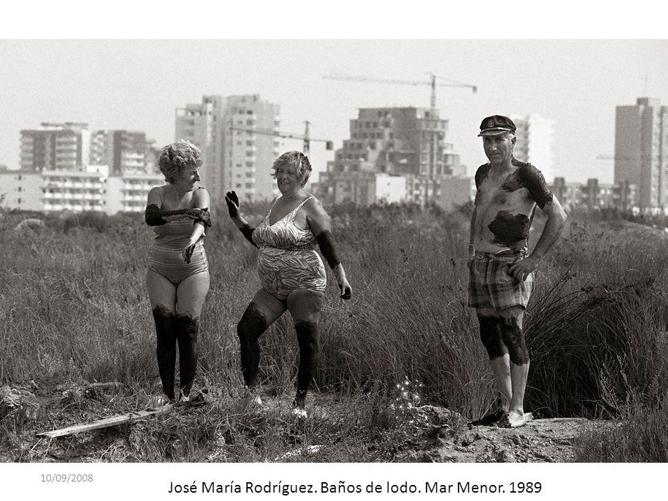 10/09/2008 José María Rodríguez. Baños de lodo. Mar Menor. 1989