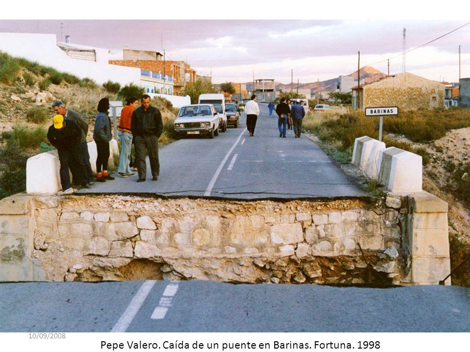 10/09/2008 Pepe Valero. Caída de un puente en Barinas. Fortuna. 1998