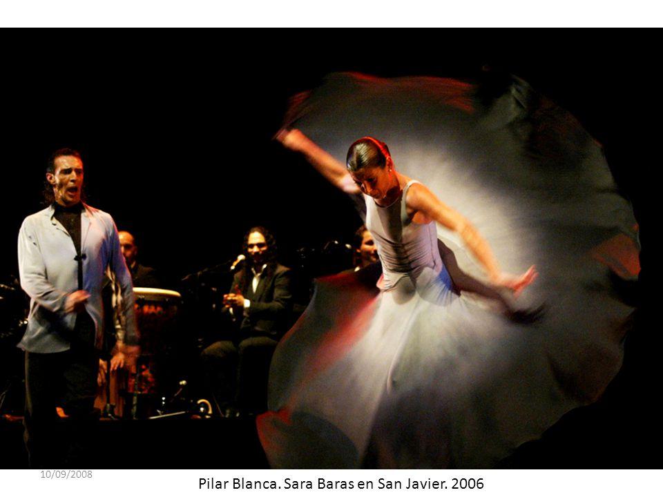 10/09/2008 Pilar Blanca. Sara Baras en San Javier. 2006
