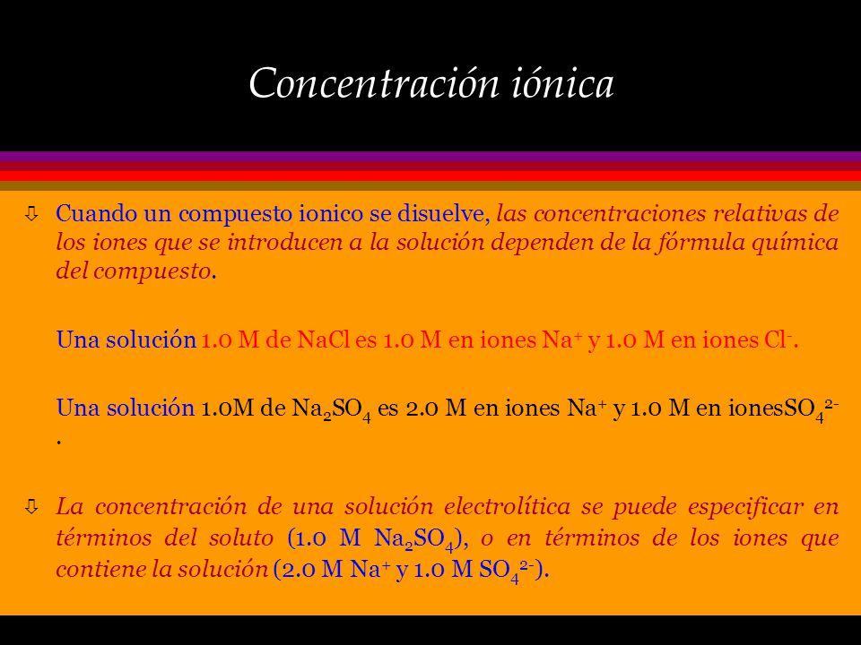 Electrolitos: equilibrio ò Cuando un electrolito débil, como el ác. acético, se ioniza en solución, la ecuación química se escribe como : CH 3 COOH (a