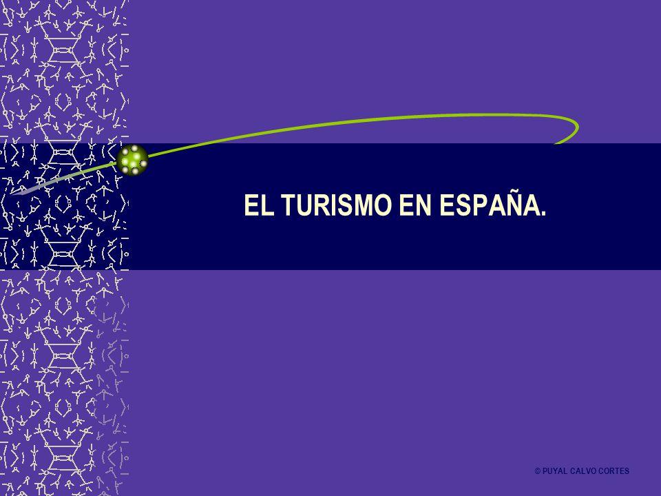 EL TURISMO EN ESPAÑA. © PUYAL CALVO CORTES