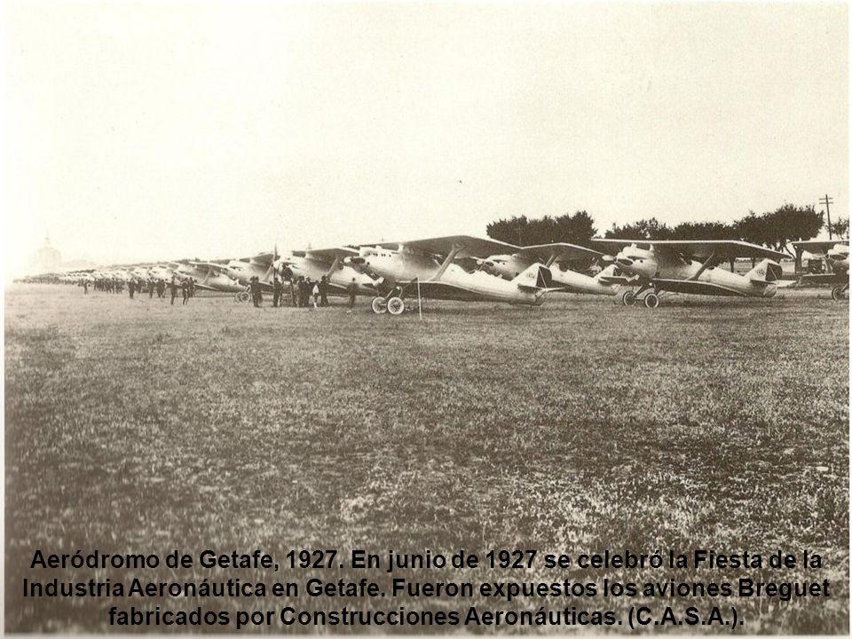 Inicio de las obras de la Telefónica, 1926. Imagen insólita de la Gran Vía.