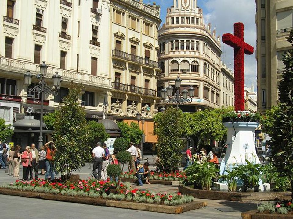 …a las Cruces.