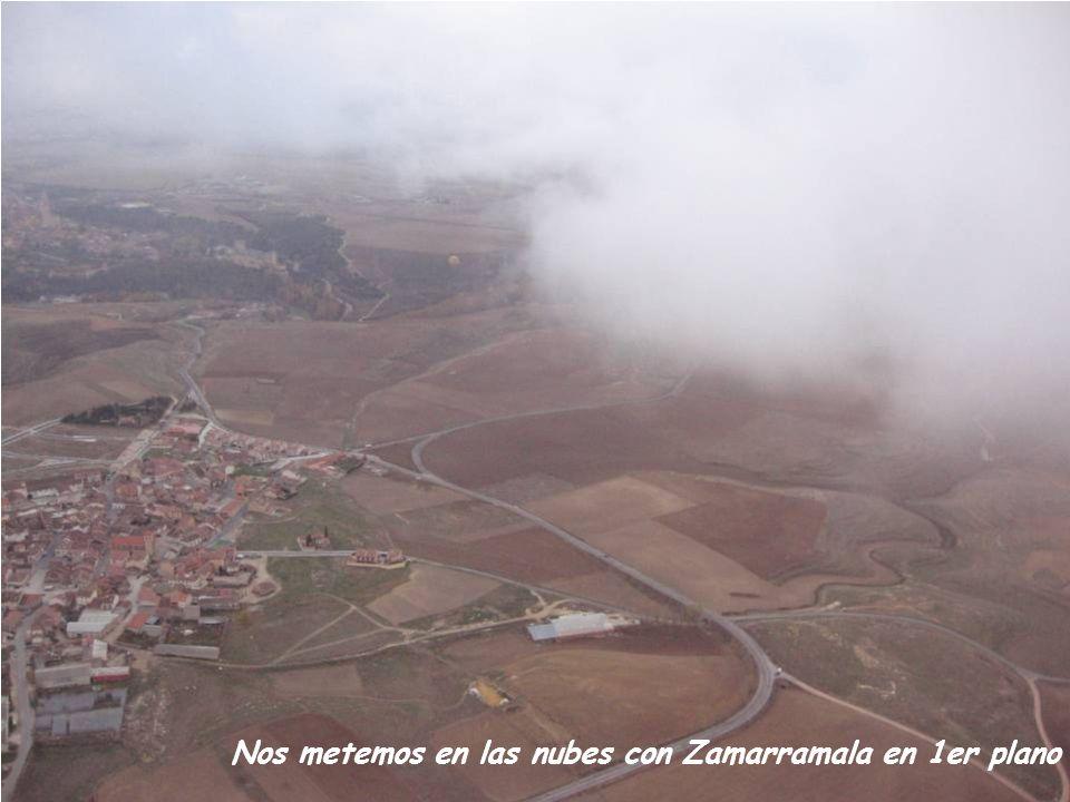 Nos metemos en las nubes con Zamarramala en 1er plano