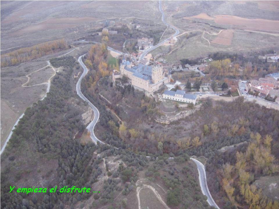 una panorámica maravillosa de Segovia