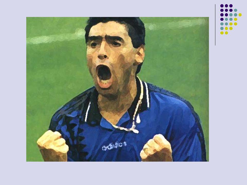 Casos de Doping en la Argentina Caniggia, Claudio Paul - En marzo de 1993 fue inhabilitado por dar positivo en un control antidopaje, tras un partido entre el Nápoles y la Roma, y estuvo sancionado hasta mayo de 1994, por lo que pudo jugar el Mundial de Estados Unidos un mes más tarde.