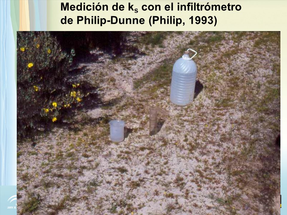 Durante chubascos: - Infiltración del agua de lluvia Bajo condiciones de flujo: t t ie Bajo condiciones de concentración: t ie < t t r Antecedentes del modelo
