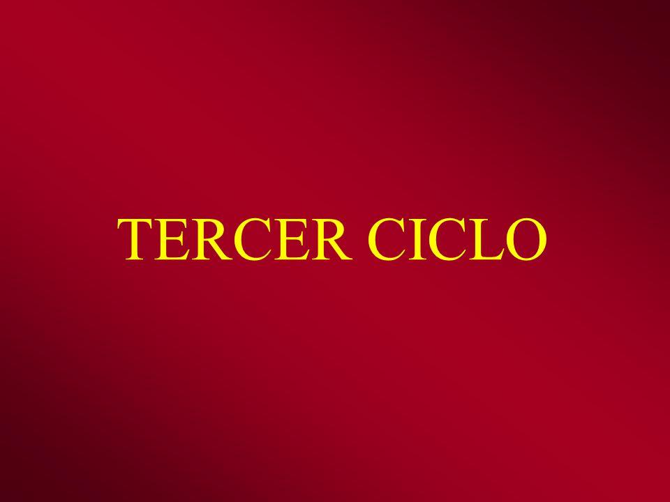 TERCER CICLO