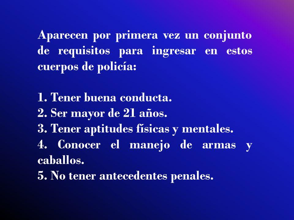 esta organización de la policía en México en sus inicios como país independiente, alcanzó grandes adelantos organización jerárquica archivos judiciales la participación popular para perseguir los delitos