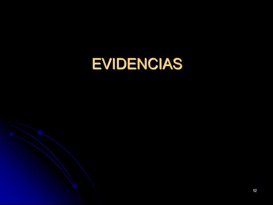 12 EVIDENCIAS