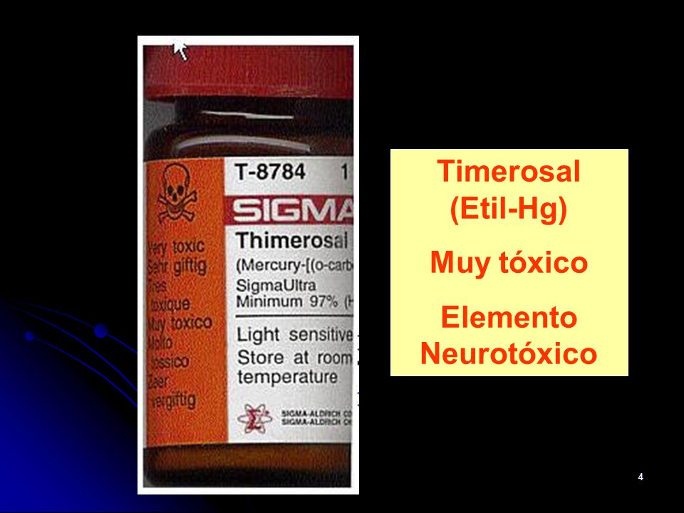 55 TOXICOLOGÍA DEL ETILMERCURIO Clarkson, T et al.