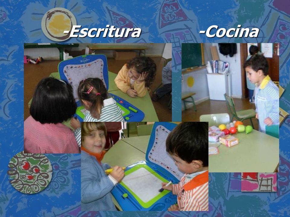 -Escritura -Cocina