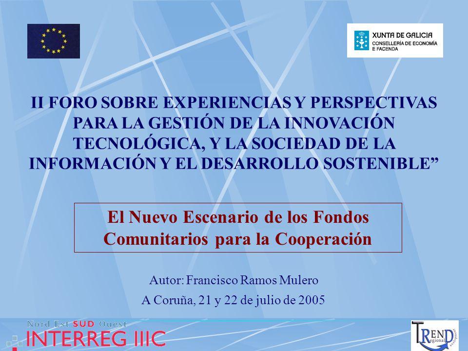 I N D I C E 1.- LAS PERSPECTIVAS FINANCIERAS 2007 – 2013.