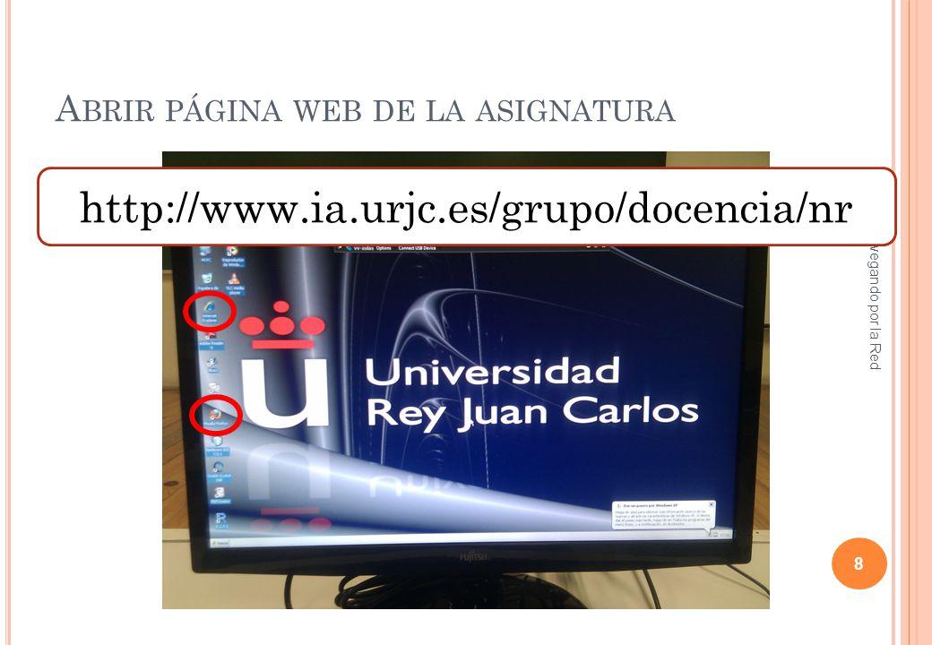 APAGAR EL ORDENADOR DEL AULA Navegando por la Red 9