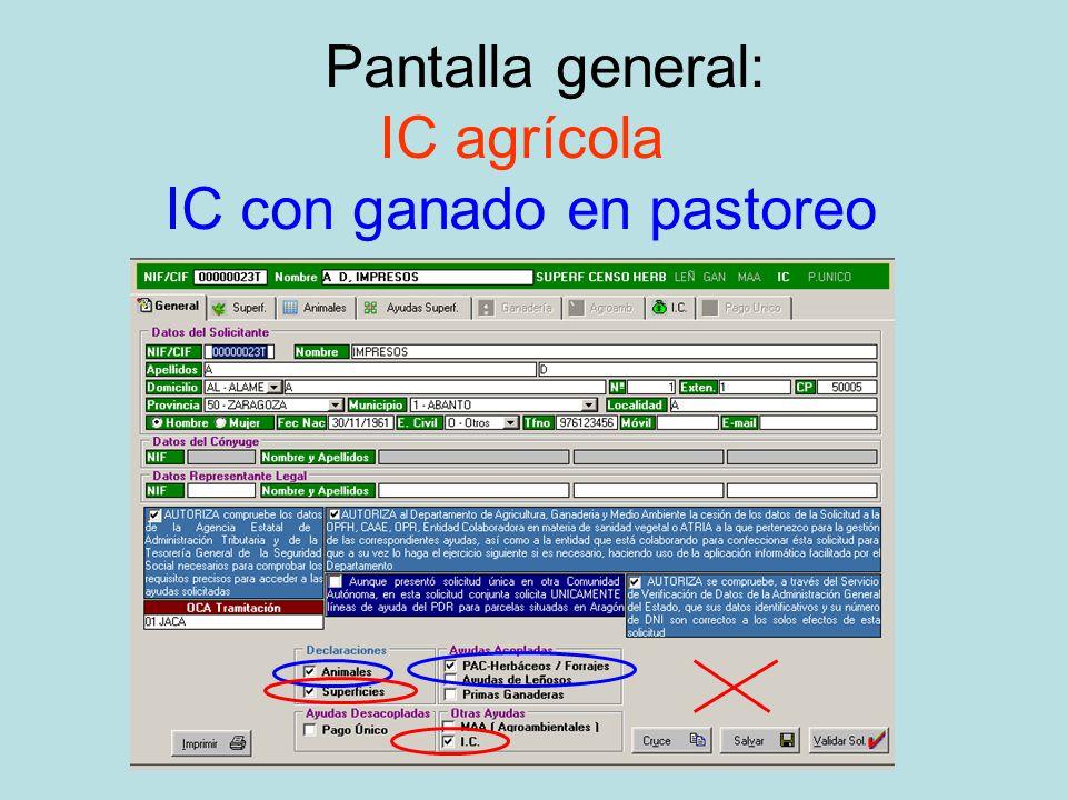 Recordatorio olvido solicitud: ¡Cobrar la IC, supone mantener la actividad agraria durante cinco años desde el primer cobro de IC !