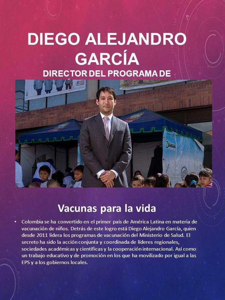 De 36 años, García es médico de la Universidad del Rosario especializado en Pediatría y en Gerencia en Salud y Seguridad Social.
