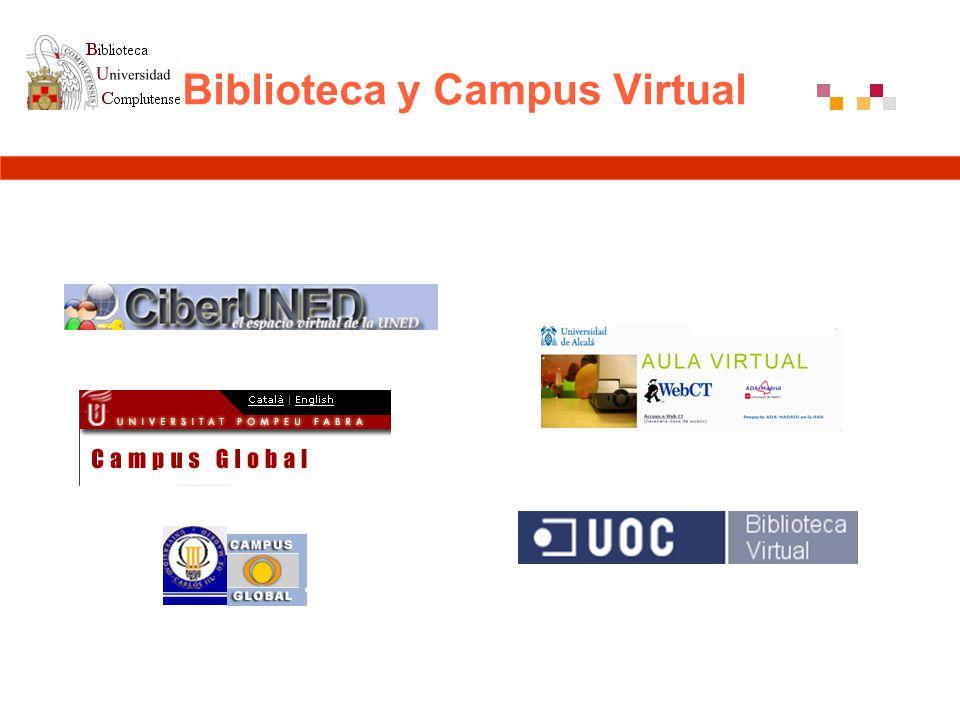 Biblioteca y Campus Virtual