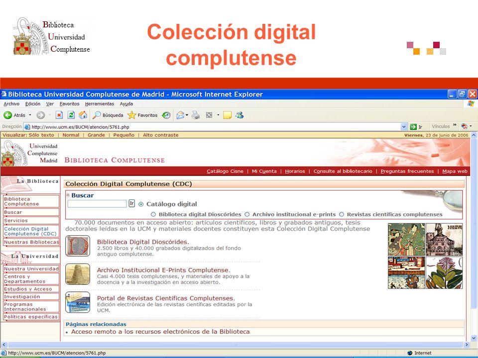 Colección digital complutense