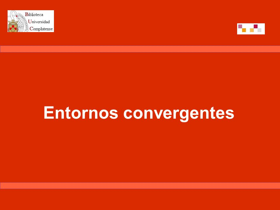 EEES UCM Facultad de CCEE Entorno Virtual WebCT Entorno bibliotecario +