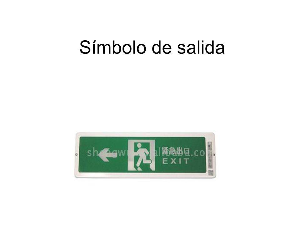 Símbolo de salida