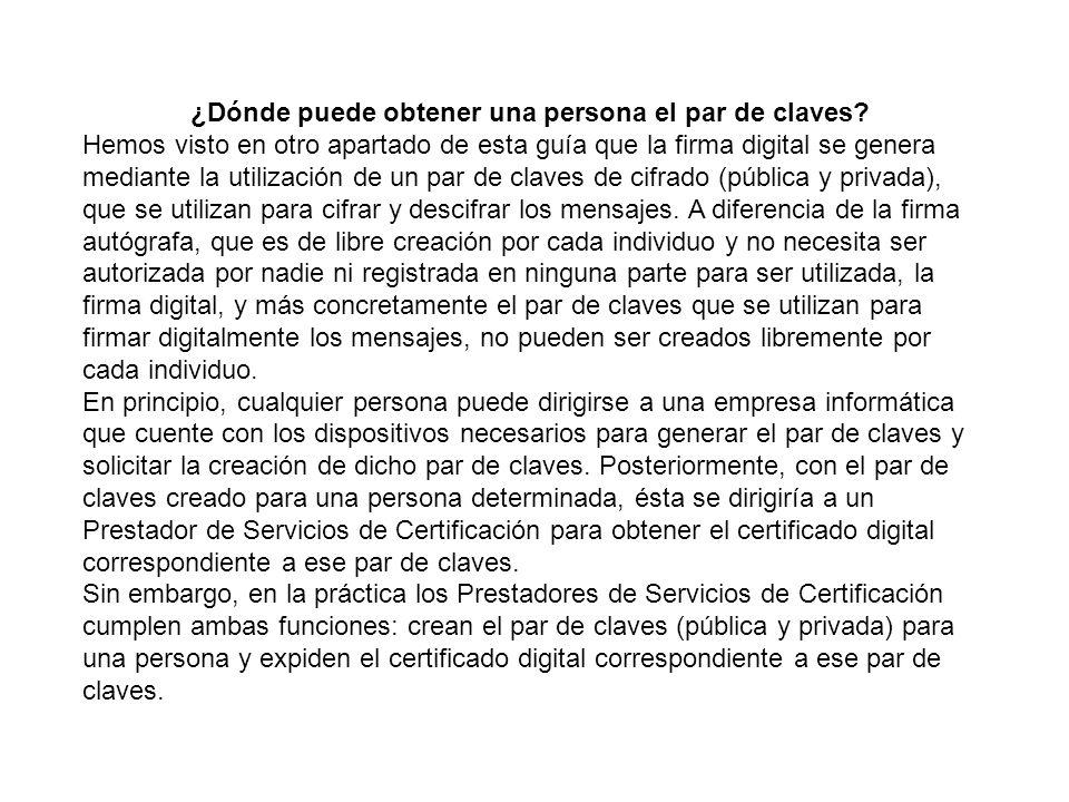 ¿Qué son los certificados digitales.