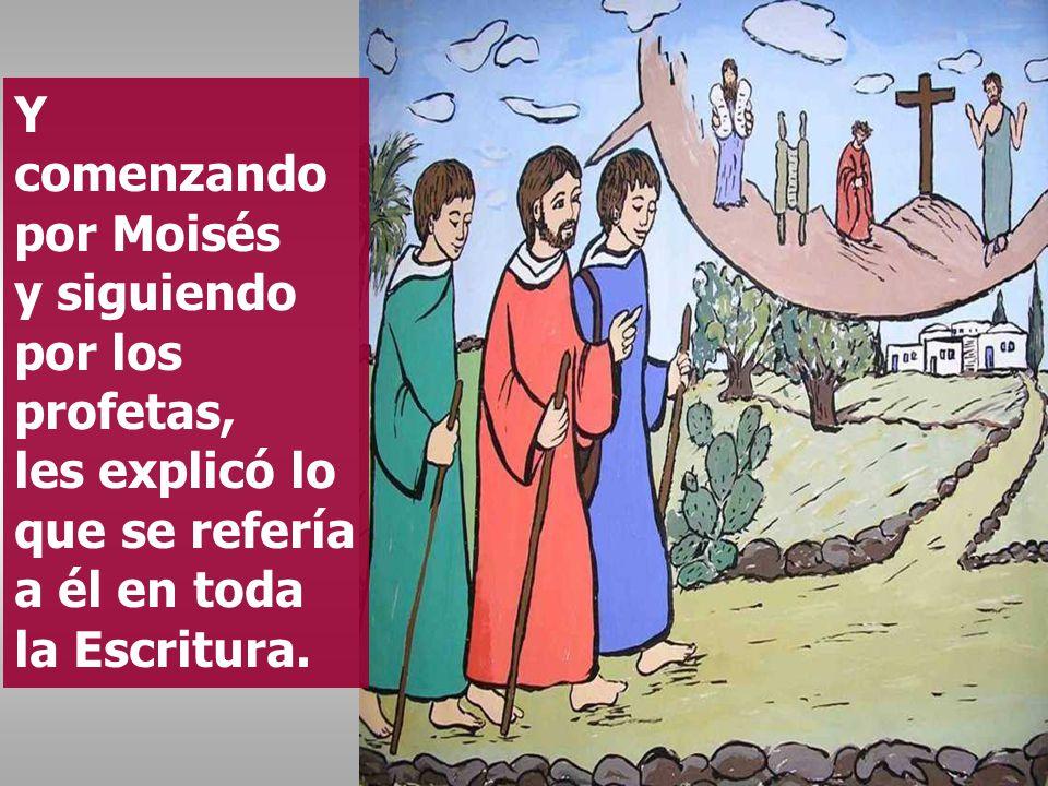 ¡Qué necios y torpes sois para creer lo que anunciaron los profetas.