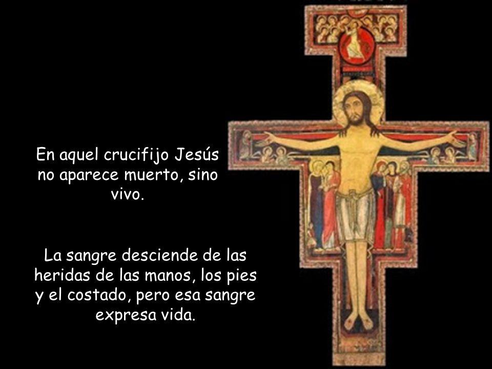 ¿Dónde inicia el camino de Francisco hacia Cristo? Comienza con la mirada de Jesús en la cruz. Dejarse mirar por él en el momento en el que da la vida