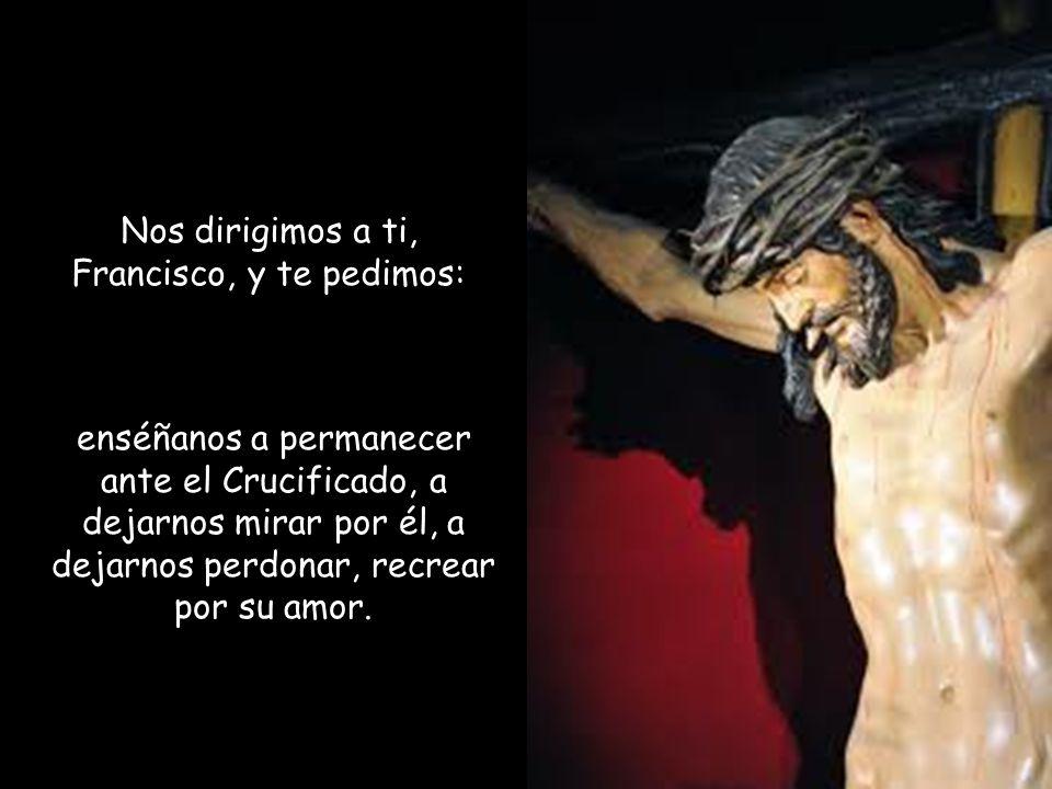 Por eso Francisco puede decir, como san Pablo: «En cuanto a mí, Dios me libre de gloriarme si no es en la cruz de nuestro Señor Jesucristo»