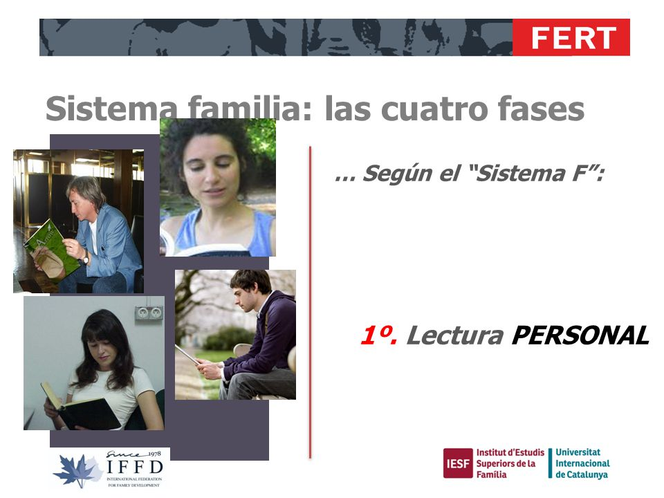 Sistema familia: las cuatro fases 2º. Estudio, análisis, contraste y DIÁLOGO MATRIMONIAL