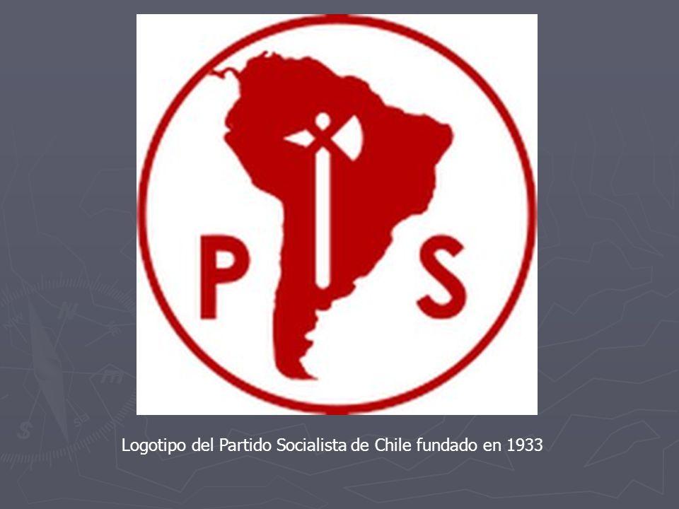 Logotipo del Partido Socialista de Chile fundado en 1933
