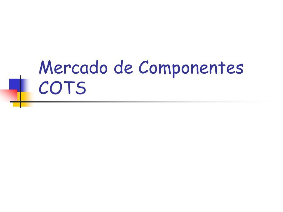 Mercado de Componentes COTS