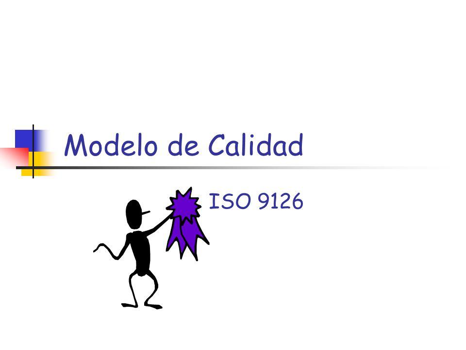 Modelo de Calidad ISO 9126