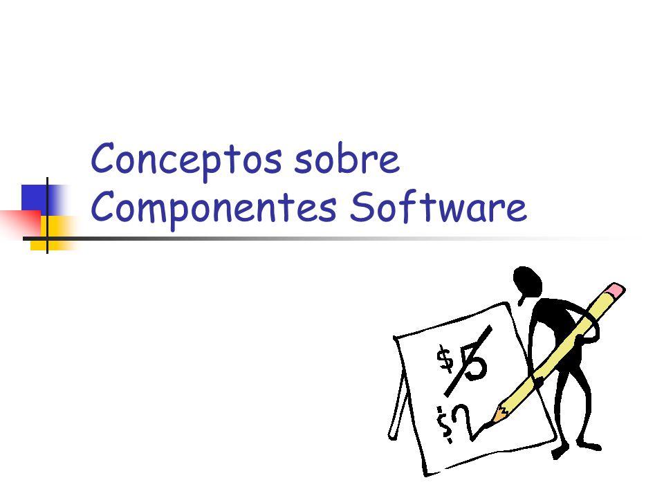 Calidad de Componentes Software64 Información Disponible: Documentación