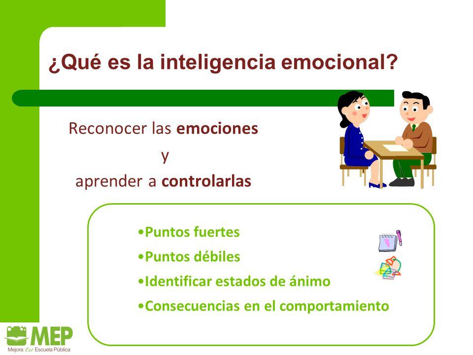 ¿Qué es la inteligencia emocional.